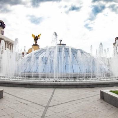 Сезон работы фонтанов открывается в Киеве