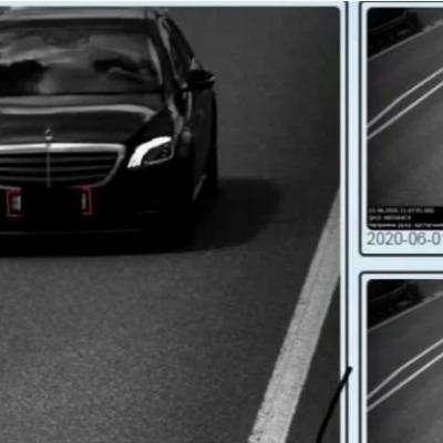 Дорожные камеры зафиксировали первый антирекорд превышения скорости — 208 км/ч