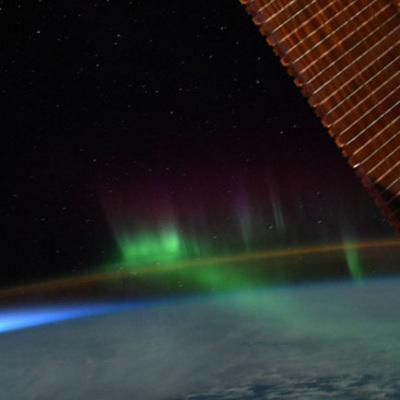 Астронавт NASA опубликовал снимки полярного сияния из космоса