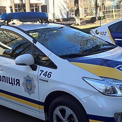 Появилось видео ДТП в Киеве, в котором сбили полицейскую