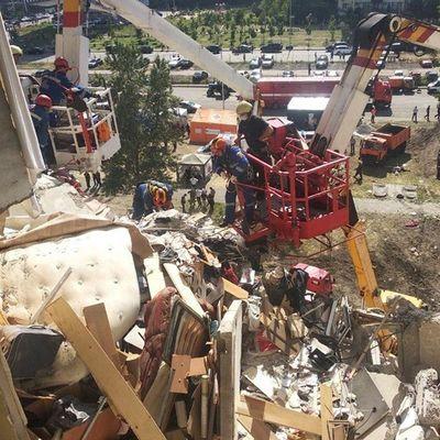 Взрыв на проспекте Григоренко: спасатели подтвердили гибель второго человека