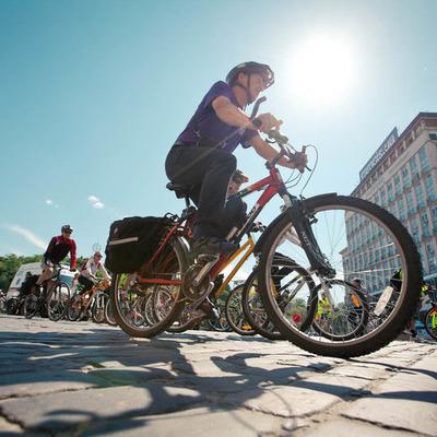 В Киеве появилась интерактивная карта велодорожек