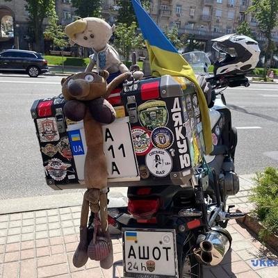 На Крещатике стартовал масштабный мотопробег от востока до запада Украины