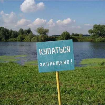 Киевские пляжи непригодны для купания