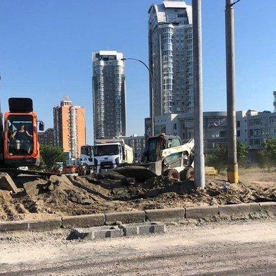 Кличко рассказал, когда закончат ремонт на проспекте Бандеры и Южном мосту