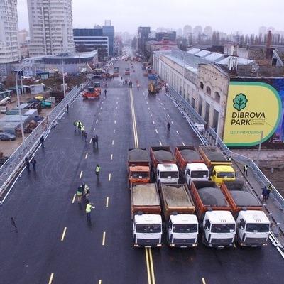 В Киеве временно ограничат движение по Шулявскому путепроводу: причина