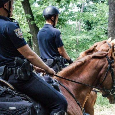 В столице кавалерия начала патрулировать лесопарковые зоны