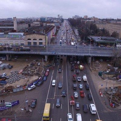 На Шулявском мосту начали асфальтирование — Кличко