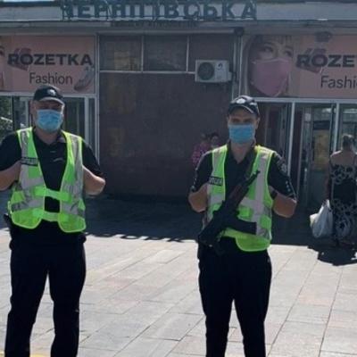 Полиция усилила меры безопасности на улицах Киева