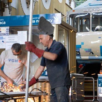 Как ремонтируют Киевский фуникулер и когда его откроют