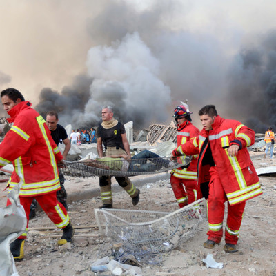 В результате мощного взрыва в Ливане несколько украинцев получили травмы, — посол Украины