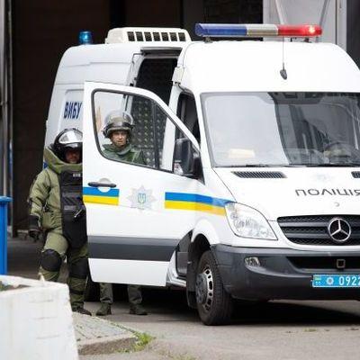 В Киеве возле Южного вокзала обнаружили подозрительный предмет