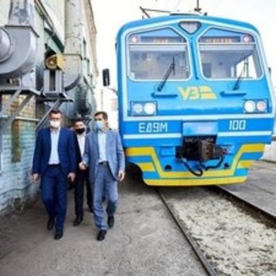 Укрзализныця пустила из Киева в Фастов модернизированную электричку