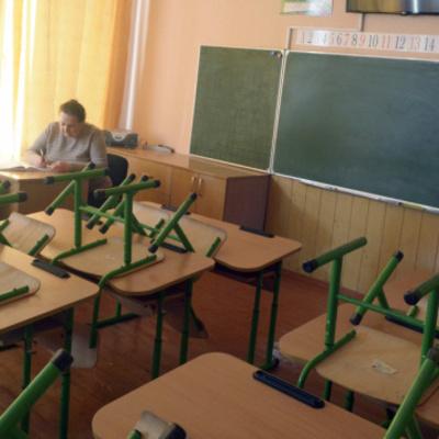 В Киеве на карантин закрыли четыре школы и два детсада