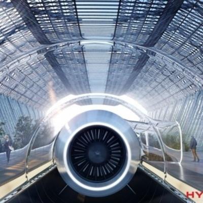 В капсуле Hyperloop впервые проехались пассажиры