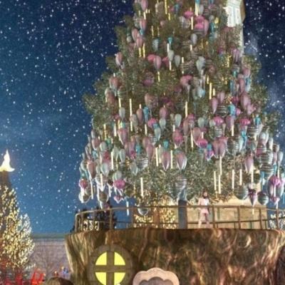 В Киеве главная елка останется на Софийской площади, но без фудкортов