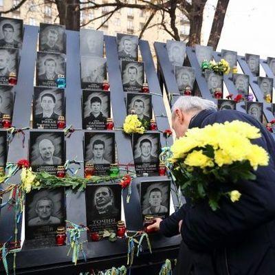 В Киеве помолились за погибших во время Революции Достоинства