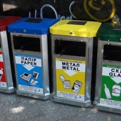 Раздельный сбор мусора: в Киеве установили уже 4 000 контейнеров