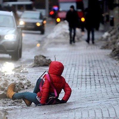 В Украине столичных водителей предупредили о гололедице на дорогах в выходные